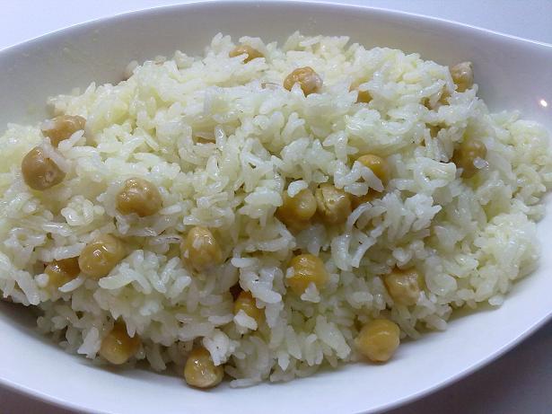 nohutlu pirinç pilav